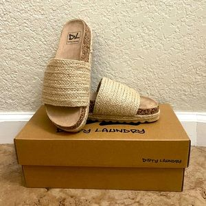 Dirty Laundry Women Sandals Size 5